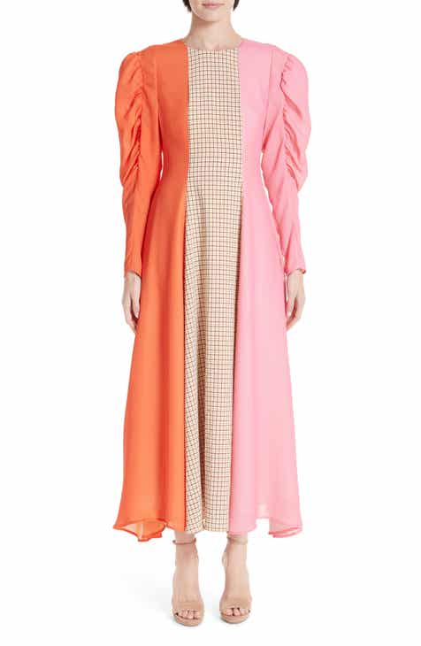 Rejina Pyo Renee Colorblock Crepe Maxi Dress by REJINA PYO