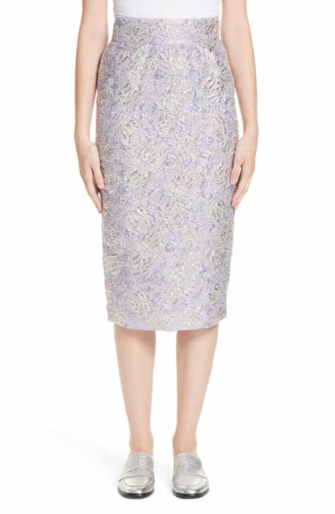 Roseanna Lauren Brocade Pencil Skirt by ROSEANNA