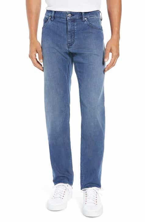 8311c4511e8 BOSS Maine Slim Fit Stretch Denim Jeans