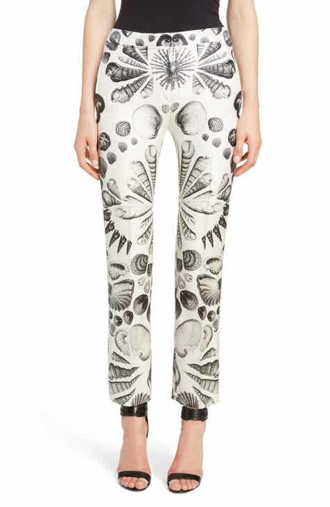 Alexander McQueen Shell Print Wool & Silk Pants By ALEXANDER MCQUEEN by ALEXANDER MCQUEEN Looking for