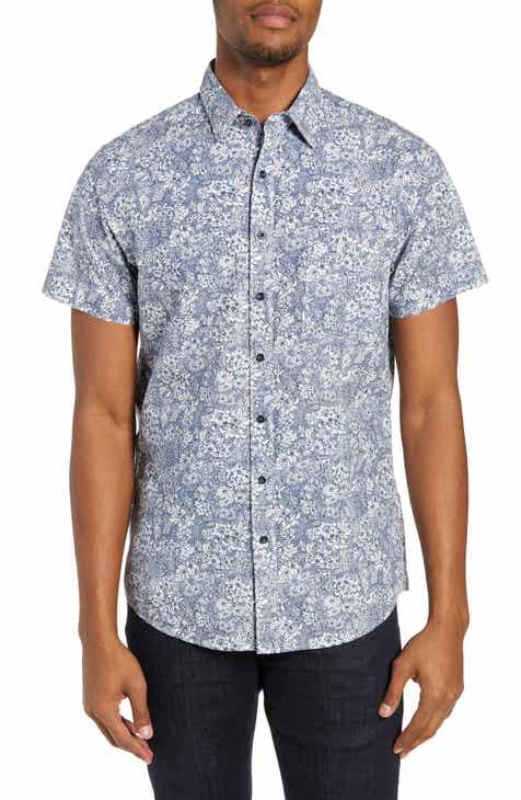 Rodd & Gunn Braebrun Regular Fit Floral Sport Shirt