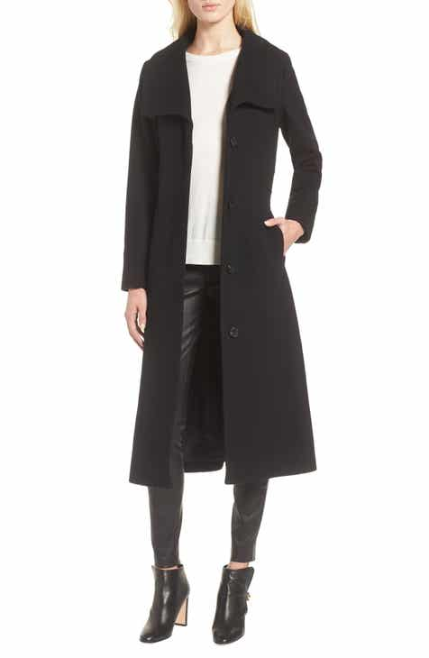 Kenneth Cole New York Wool Blend Maxi Coat