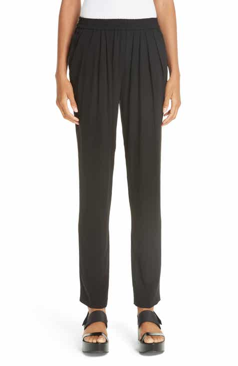 Michael Kors Silk Georgette Joggers by MICHAEL KORS