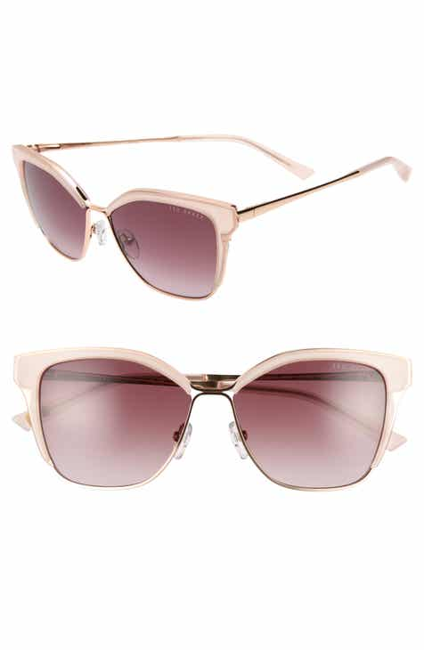8120932ca7328d Ted Baker London 54mm Gradient Square Sunglasses