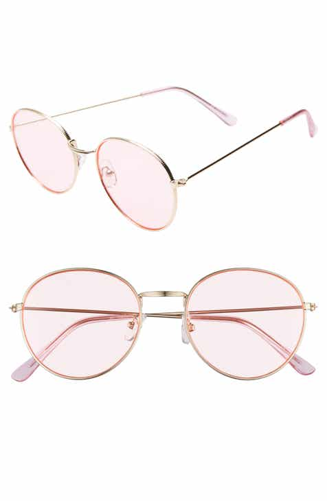 d8b0272ec2 Glance Eyewear 50mm Thin Metal Round Sunglasses