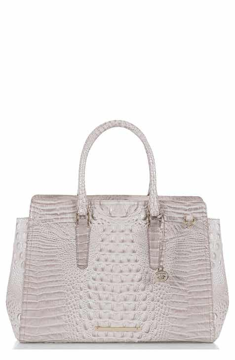 e1d23327c3 Brahmin Finley Croc Embossed Leather Tote