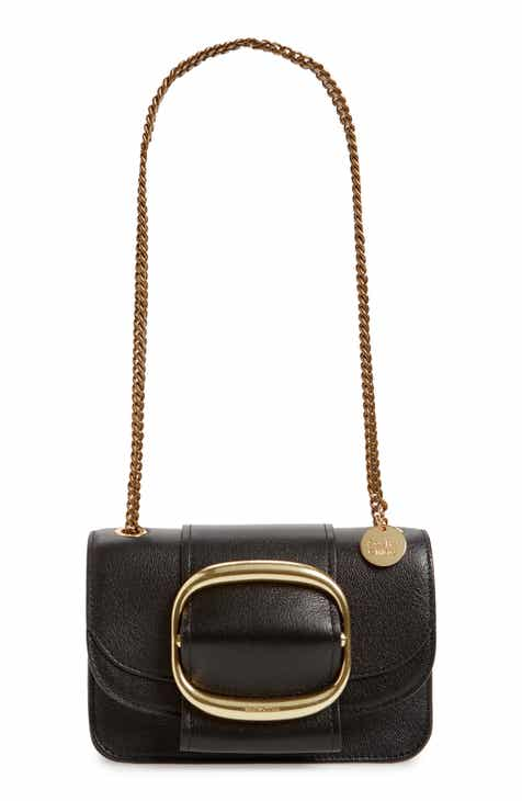 cda0f0646d0c See by Chloé Hopper Leather Shoulder Bag