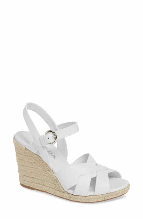 33205b8d6be Prada Espadrille Wedge Sandal (Women)