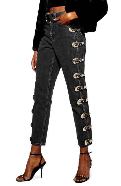 MOTHER 'The Looker' Frayed Ankle Jeans (Girl Crush) by MOTHER