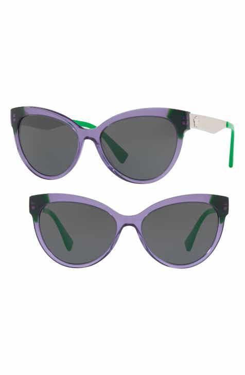 4ed2bb0b0e Versace 57mm Cat Eye Sunglasses