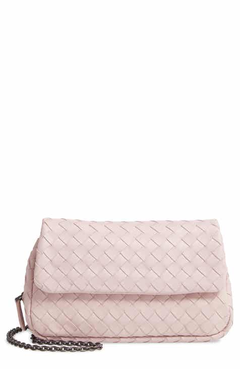 Bottega Veneta Mini Leather Messenger Bag