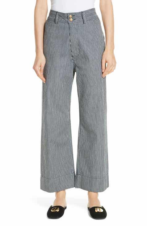 c5e391ca65 Women's Apiece Apart Cropped & Capri Pants | Nordstrom