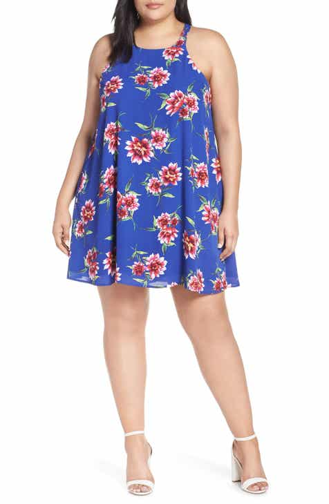 e45aabe78a443 Naples Swing Halter Dress (Plus Size) (Nordstrom Exclusive)