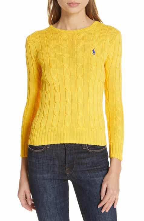 4f6d76fae40 Polo Ralph Lauren Cable Knit Cotton Sweater