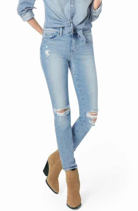 Joe's Flawless - Icon Ripped Ankle Skinny Jeans (Shailene) by JOES