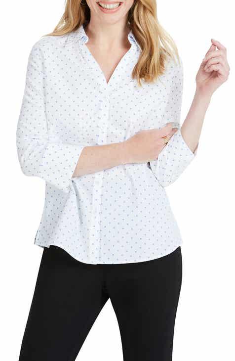 5d937f5c Foxcroft Mary Star Dot Shirt