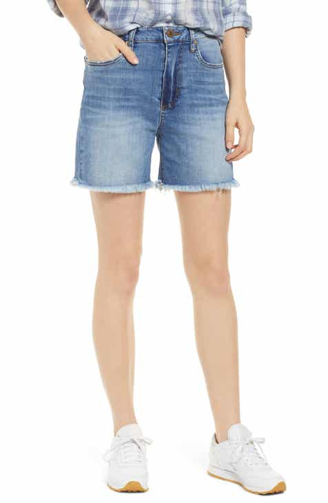 STS Blue Alicia High Waist Mom Shorts (Ashvale) by STS BLUE