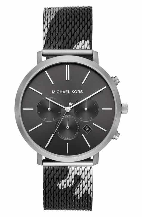 b08f5b4dcba1 MICHAEL Michael Kors Blake Chronograph Mesh Strap Watch