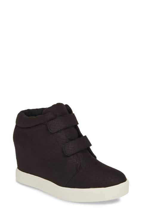 new styles 6b9c9 644ff Coconuts by Matisse Timberwolf Snake-Embossed Wedge Sneaker (Women)