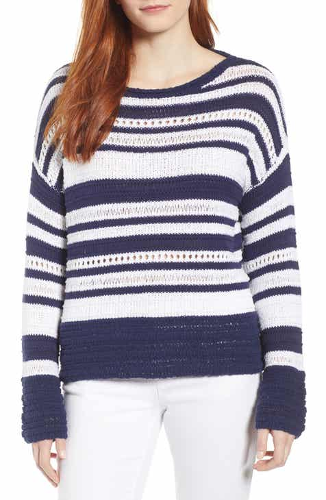 11fd692e8a4 Caslon® Pointelle Sweater (Regular   Petite)