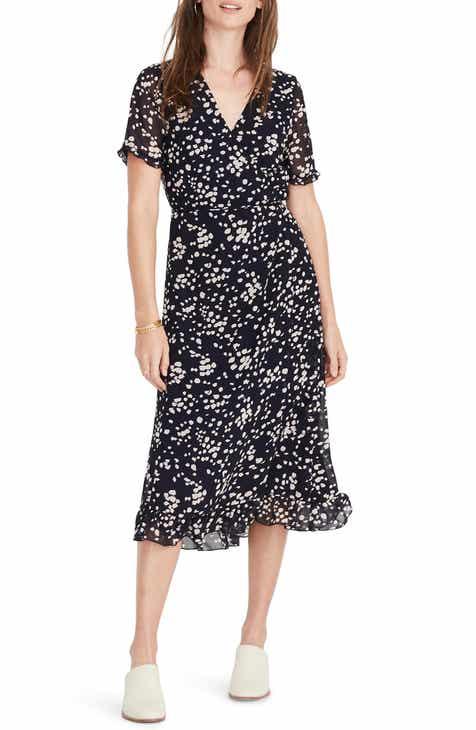0825a78482 Madewell Ruffle Edge Dress