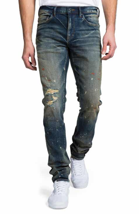 f65a79c73587 PRPS Windsor Ripped Slim Fit Jeans (Villiers)