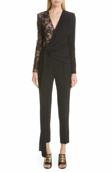 Givenchy Lace Panel Jumpsuit by GIVENCHY
