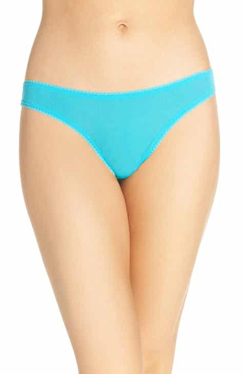 On Gossamer 'Hip-G' Mesh Thong (3 for $45) by ON GOSSAMER