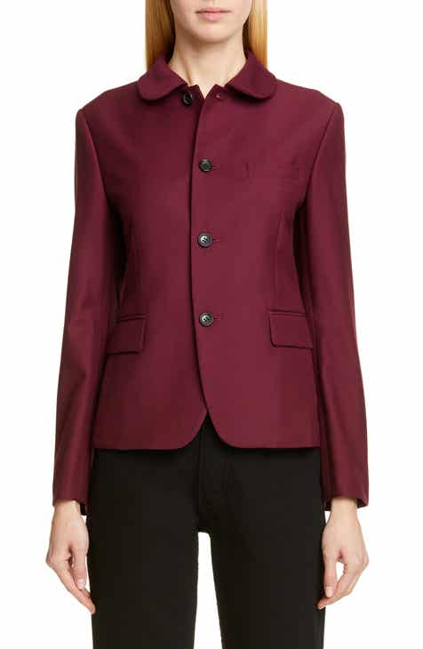Tailored by Rebecca Taylor Collarless Linen Blend Jacket by TAILORED BY REBECCA TAYLOR