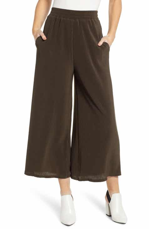 ASTR the Label Wide Leg Ankle Pants by ASTR
