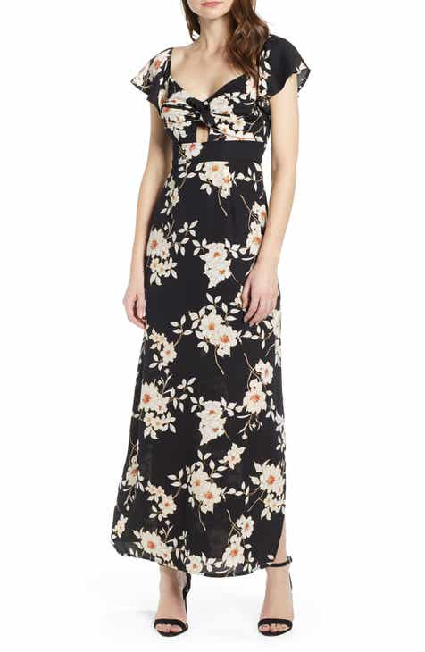 Row A Twist Front Maxi Dress by ROW A