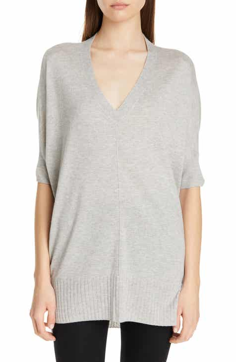 Nordstrom Signature High/Low Silk & Cashmere Sweater by NORDSTROM SIGNATURE