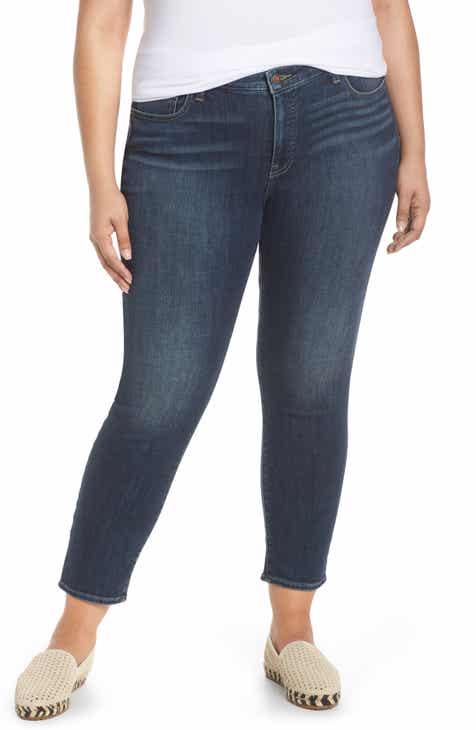 b6733fc8c74e7 Lucky Brand Lolita Skinny Jeans (Lake Bridgeport) (Plus Size)