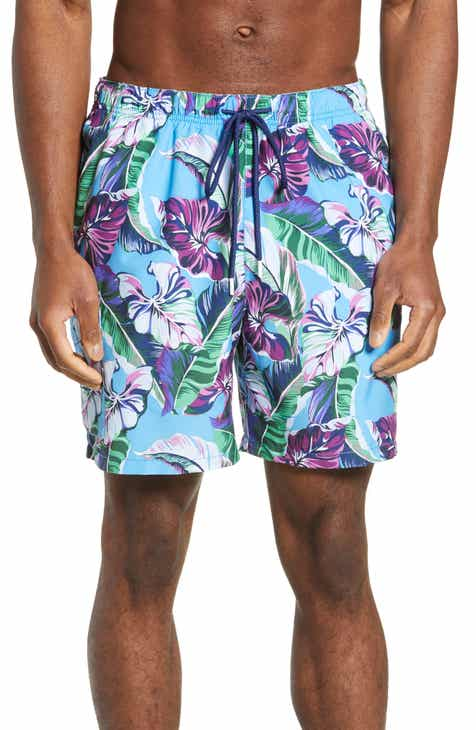 e3b9363fc949e Tommy Bahama Naples Let's Be Fronds Classic Fit Swim Trunks