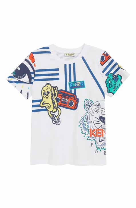 KENZO Multi Iconics T-Shirt (Little Boys & Big Boys)