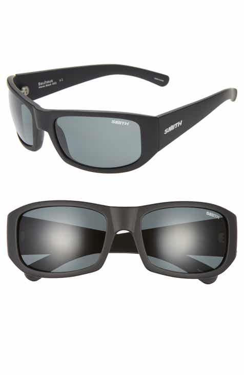 0ff6c9b430 Smith Bauhaus 59mm ChromaPop™ Polarized Wraparound Sunglasses