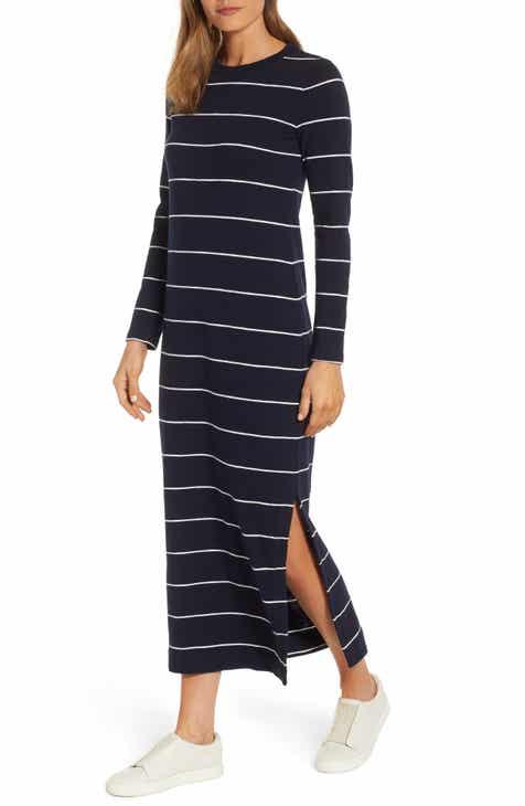 773a202d70c Lou   Grey Stripe Cozy Jersey Maxi Dress