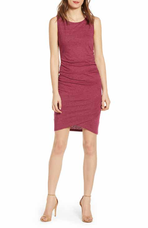 62e9a99f58 Leith Ruched Body-Con Tank Dress