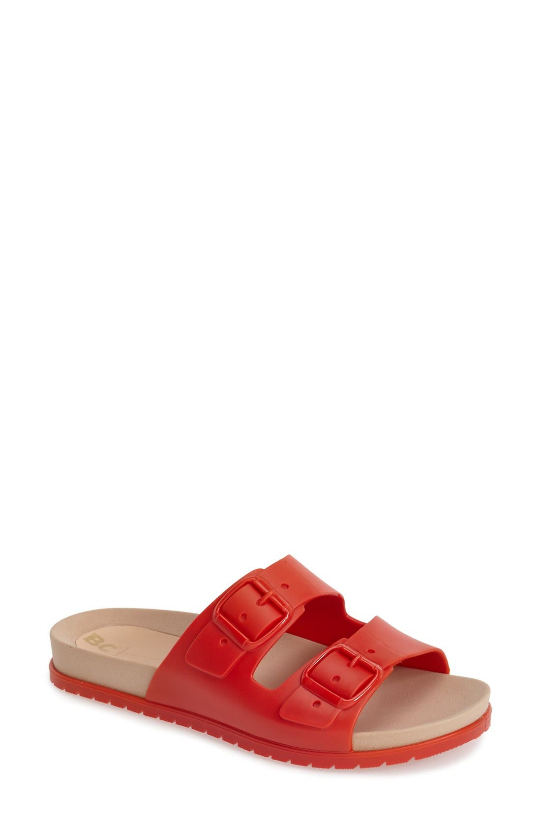 Alternate Image 1 Selected - BC Footwear 'Dim The Lights' Slide Sandal (Women)