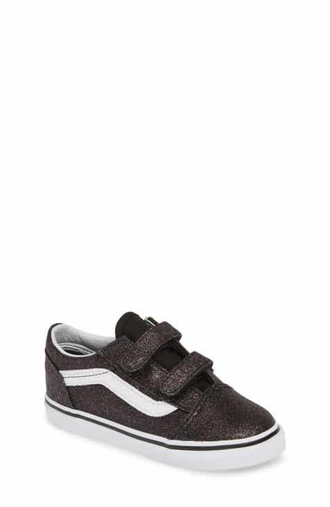 9213c2ba22 Vans Old Skool V Glitter Sneaker (Baby