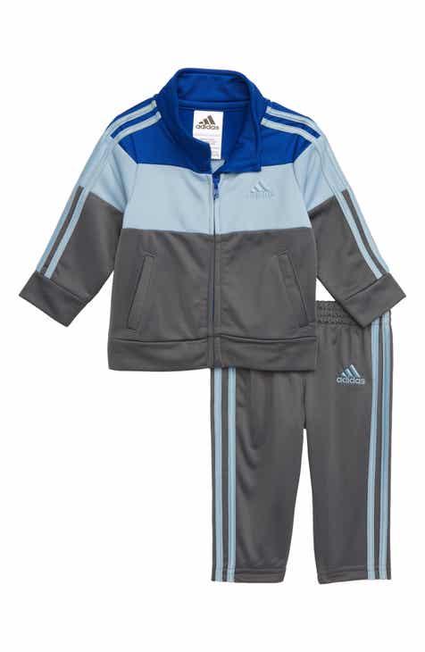 78aeddc64a9 adidas Colorblock Track Jacket   Athletic Pants Set (Baby)