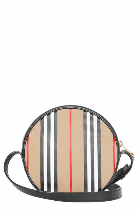 647cd62075c2d Burberry Stripe Canvas Crossbody Bag (Kids)