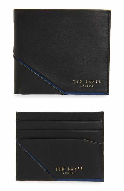 9f88d7307 Ted Baker London Leather Wallet and Card Case Gift Set