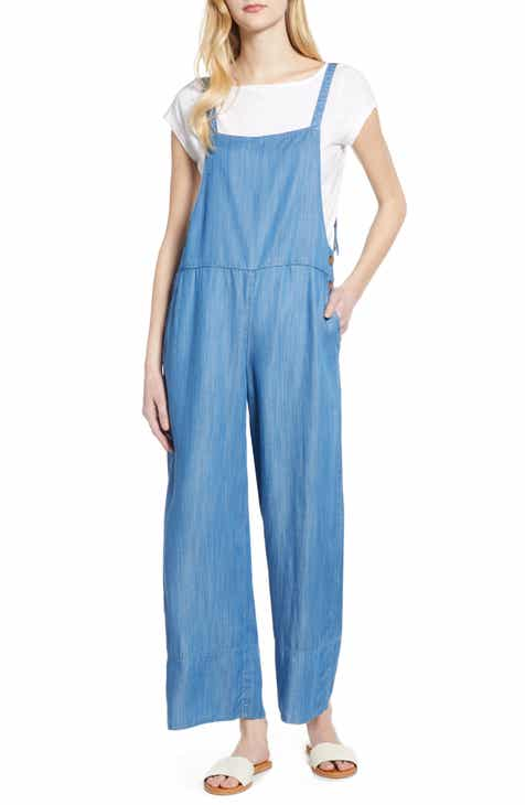 9ce30622f06 Lou   Grey Chambray Overalls