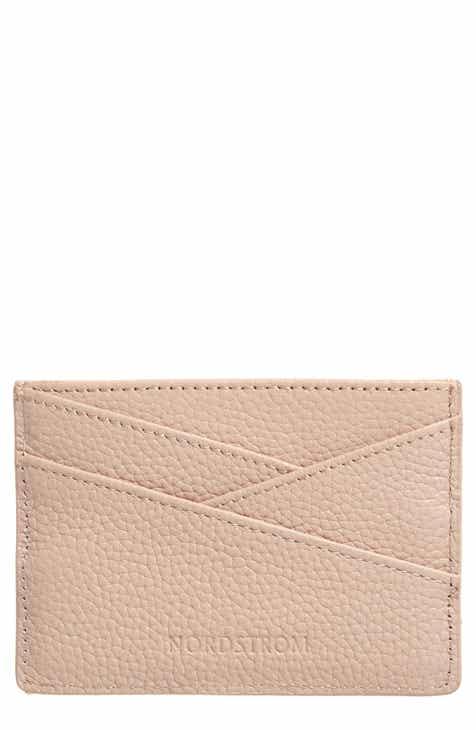 bbe053e4689729 Nordstrom Alicia Leather Card Holder