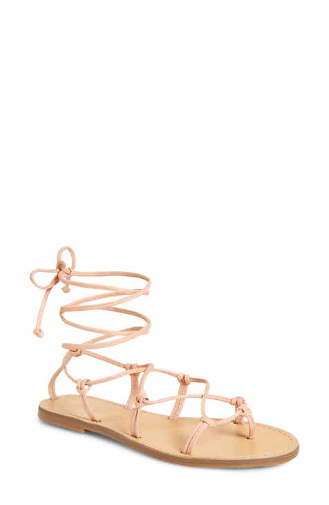 03c6ecfe035 Madewell The Boardwalk Lace-Up Sandal (Women)