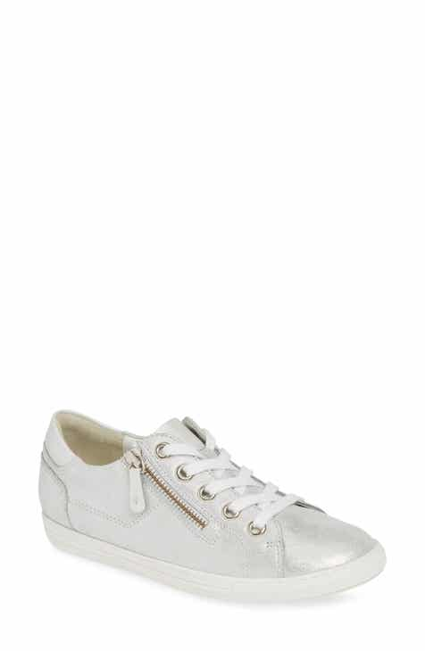 1af8b94dafe060 Paul Green Upbeat Metallic Low Top Sneaker (Women)