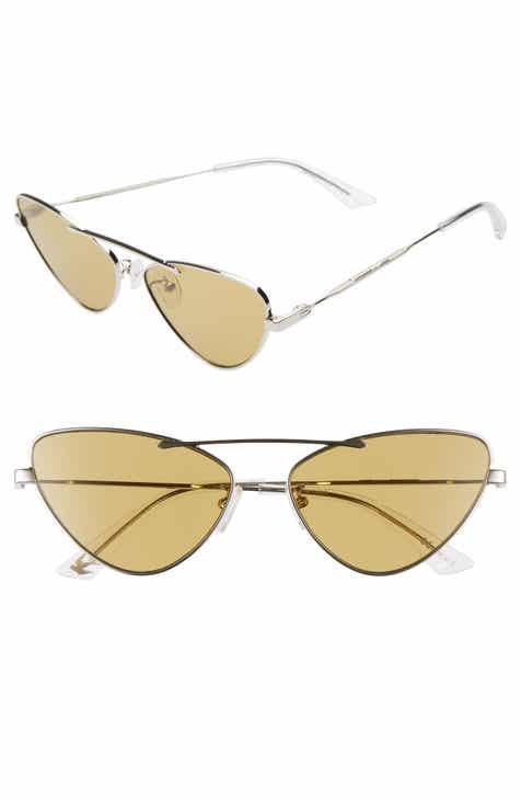6a896f55e8 McQ Alexander McQueen 59mm Cat Eye Sunglasses