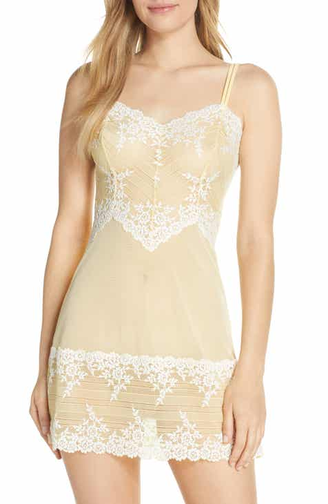 In Bloom by Jonquil Lace Trim Chemise by IN BLOOM BY JONQUIL