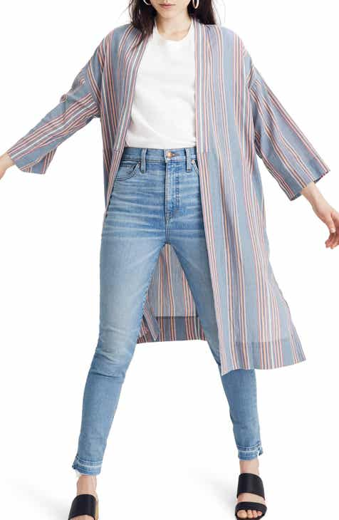 Madewell Stripe Robe Jacket by MADEWELL